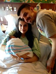 The last baby to be born in Will County in 2014 was Ayanna Sophia, the first child of Guadalupe Marin and Alejandro Campos of Joliet, who arrived at 9:48 p.m. Dec. 31.
