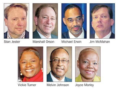Only two of Gov. Nathan Deal's six appointees to the DeKalb School Board – Dr. Michael Erwin and Dr. Joyce ...
