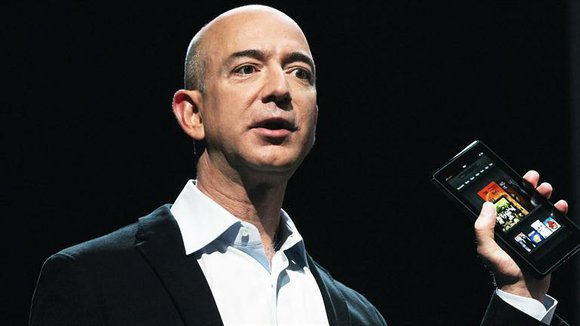 Here is a look at President, Chief Executive Officer and Chairman of the Board of Amazon.com, Jeff Bezos.