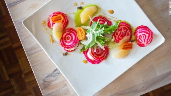 Vegetable cookery was familiar terrain to Hopkins, a James Beard award-winning Southern chef. Despite the region's reputation for BBQ and ...