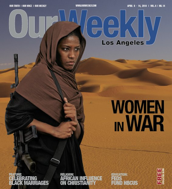 This cover was shot in house and the weapon was an actual AK-47 from the collection of Tony Ostermeier. Women in the military have a history that extends over 3,000 years into the past, throughout a large number of cultures and nations.