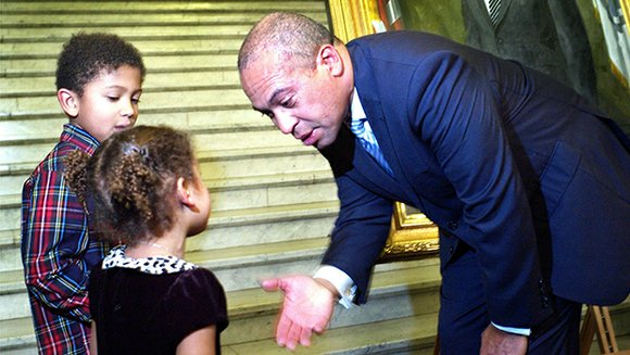 As Governor Deval Patrick takes his final walk down the State House steps, he can look back on a record ...