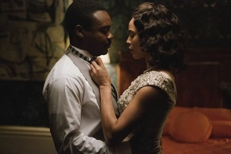 "The man who stars as the Rev. Martin Luther King Jr. in ""Selma"" seems as divinely appointed to the role ..."