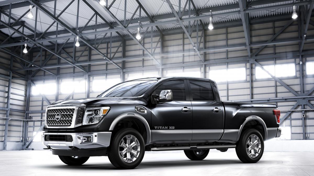 The 2016 Nissan Titan Xd Cummins Diesel Power Rumbles Into The