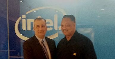 Reverend Jesse Jackson and the Rainbow PUSH Coalition applaud Intel's landmark diversity announcement to transform their workforce to achieve parity, ...