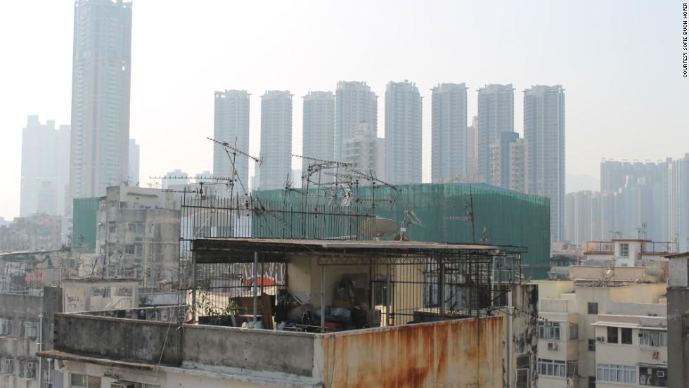 Hong Kong S Sky Slums Highlight Wealth Gap Houston Style