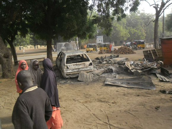 MAIDUGURI, Nigeria (AP) — Survivors of an assault by Islamic militants that killed a large number of civilians in Nigeria ...