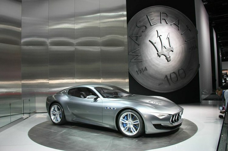 2015 NAIAS: 2016 Maserati Alfieri 2+2; concepts that look to the ...