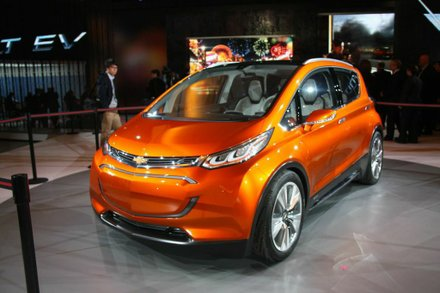 """The Bolt EV concept is a game-changing electric vehicle designed for attainability, not exclusivity,"" said General Motors CEO Mary Barra. Photo Francis Page Jr"