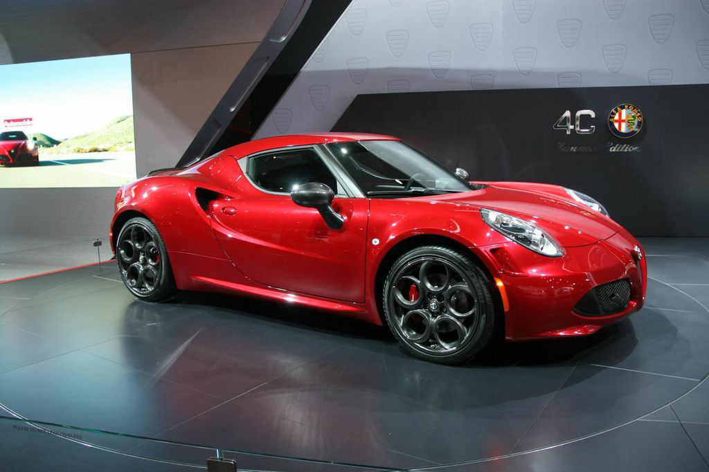 2015 naias all new 2015 alfa romeo 4c spider houston style magazine urban weekly newspaper. Black Bedroom Furniture Sets. Home Design Ideas