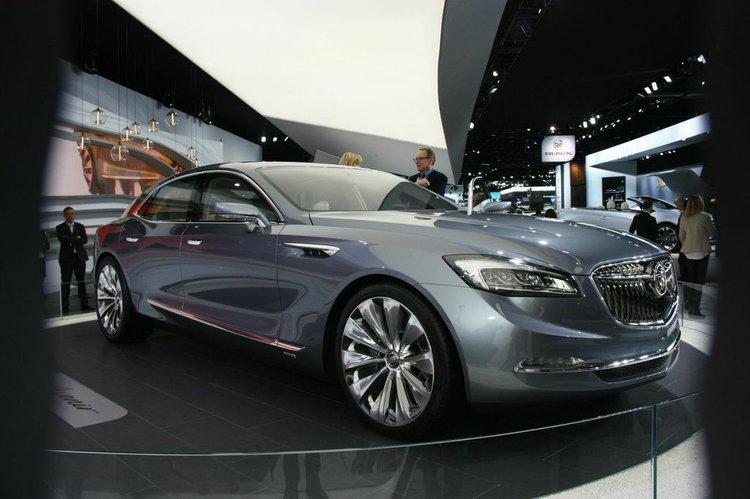 2015 Naias Buick Explores Future With Avenir Concept Houston