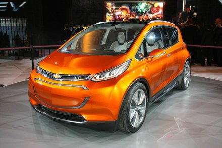 """""""Chevrolet believes electrification is a pillar of future transportation and needs to be affordable for a wider segment of customers."""" Photo Francis Page Jr"""