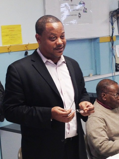 Ald. Roderick Sawyer (6th Ward) recently facilitated a community hearing at Greater Institutional A.M.E. Church, 7800 S. Indiana Ave., concerning the alleged public disturbances by clients of Nuway Community Services Methadone Clinic, 110 E. 79th St.