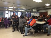 On Jan. 24, 2015, community members met in the basement of Greater Institutional A.M.E. Church, 7800 S. Indiana Ave., to address issues they had with Nuway Community Services Methadone Clinic, 110 E. 79th St.