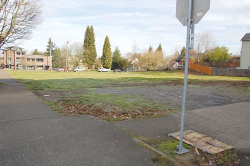 A parcel of property owned by the Portland Housing Bureau and proposed for construction of housing affordable to low income and disadvantaged residents is situated on Northeast Martin Luther King Jr. Boulevard, between Northeast Cook and Ivy Street.