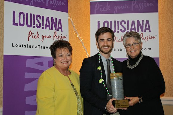 Michael Krajicek of Botsky's Premium Hotdogs was recently honored as Restaurateur of the Year at the Louisiana Travel Promotion Association's ...