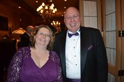 University of St. Francis President Arvid Johnson and wife Anne
