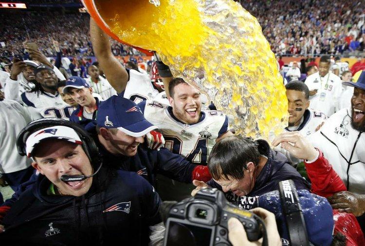 26ac773e4ab Patriots Euphoric After Super Bowl Despite 'Deflategate' | Houston ...