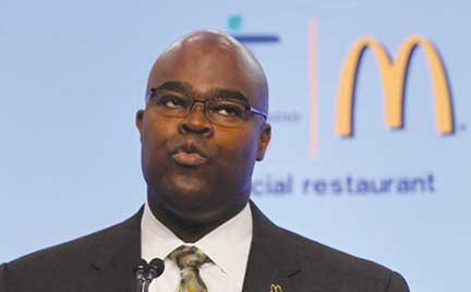 As Black History Month kicks off, comes the news that Don Thompson, one of only six African American CEOs at ...