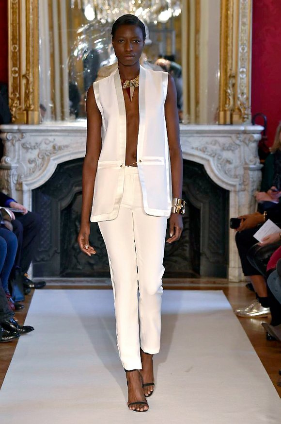 The Paris couture shows are underway, and on Jan. 28, Antonio Ortega's showed his spring-summer 2015 collection at Garage Lubeck ...