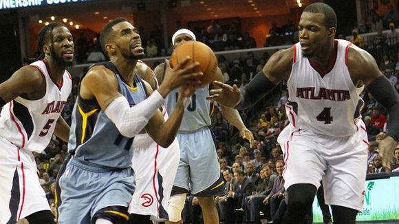 Grizz make use of familiar elements to down Hawks, 94-88.