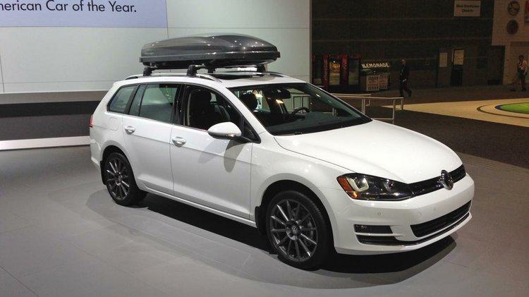 Vw Announces 2015 Golf Sportwagen Price During Chicago