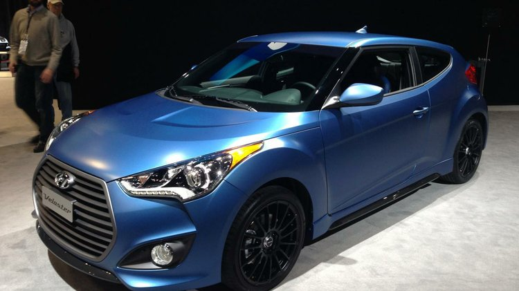 Hyundai Shows 2016 Veloster Rally Edition And Elantra Gt At Chicago Auto Show