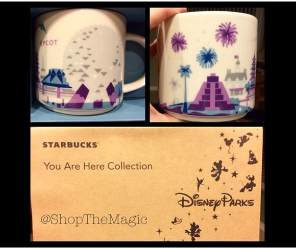 Recently, Walt Disney World and Starbucks released a new line of designer mugs to represent all of the different theme ...