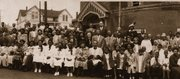 Easter Sunday in 1949 at Bethel AME Church.