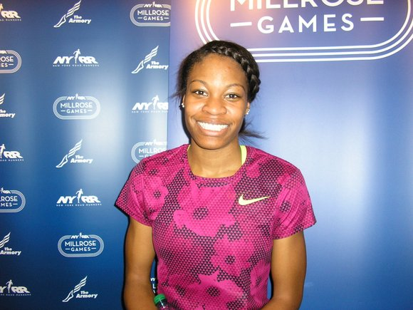 Olympic gold medalist Sanya Richards-Ross was one of the undisputed stars of the 108th NYRR Millrose Games, but the night ...