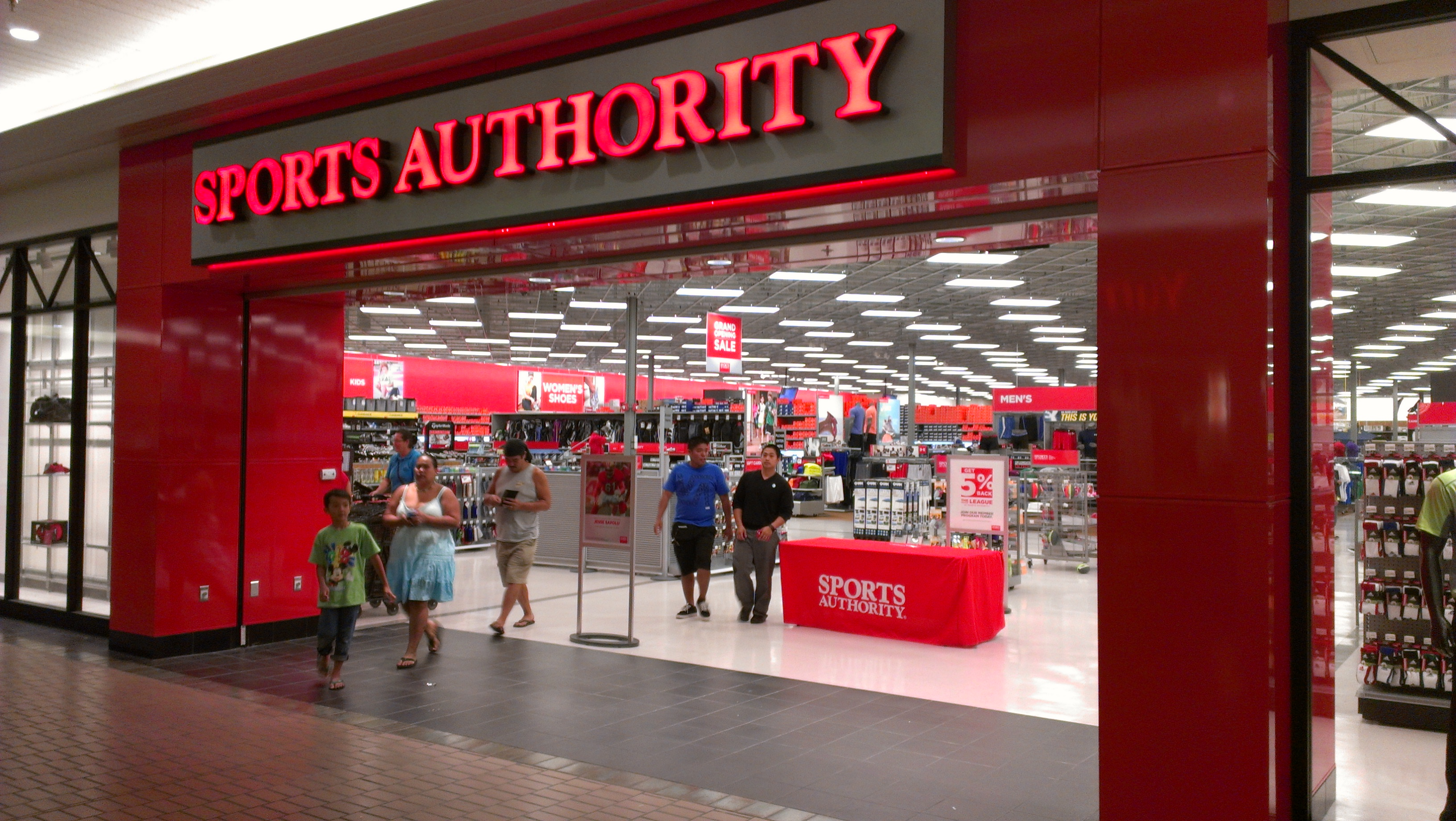 sports authority sporting goods hilo grand opening hold locations website houston dick
