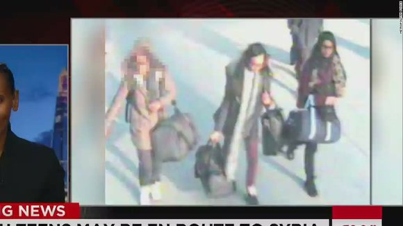 U.K. police say teens took flight to Turkey. CNN's Nima Elbagir reports.
