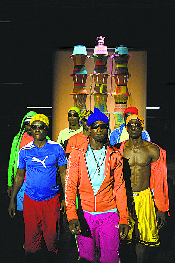 """Full disclosure, choreographer Robyn Orlin is a white South African and her recent work, """"At the same time we were ..."""