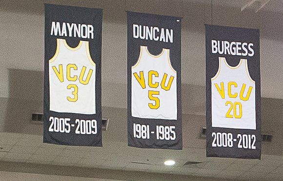 In its storied basketball history, Virginia Commonwealth University has retired the numbers of five players. Their jerseys now hang from ...