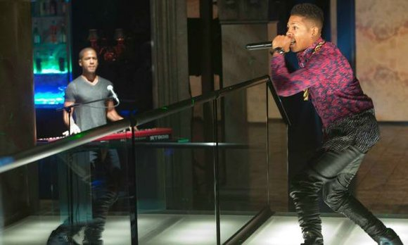 We see Jussie (pictured above on the keyboard) singing his heart out every week as Jamal Lyon Fox's addictive, fascinating ...