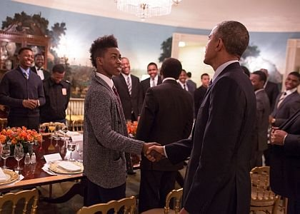 On the first anniversary of the My Brother's Keeper initiative, President Barack Obama recently met with mentees in the Diplomatic ...