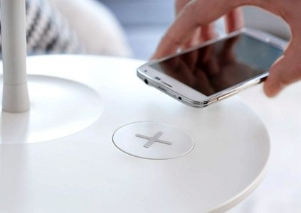 Ikea is launching a new range of high-tech furniture that will wirelessly charge your smartphones and tablets.