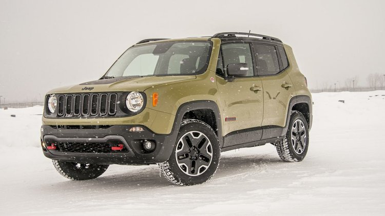 2015 Jeep Renegade Trailhawk Winter Drive Review Houston Style