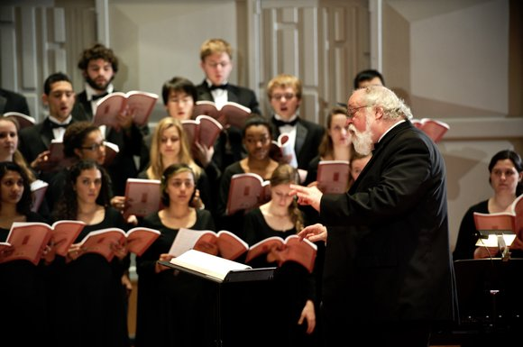 The Hamilton College Choir boasts an uninterrupted tradition of fine choral singing that dates back for over a century. It ...