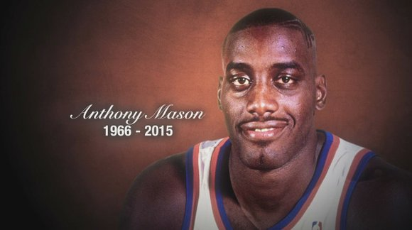Anthony Mason, the 13-year NBA veteran who was diagnosed with congestive heart failure earlier this month, died on Saturday. He ...