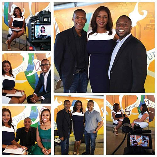 Clockwise from top left- Chanel Nicole White, of MDCTV; Chanel Nicole White, of MDCTV, James Pierre Director of JNR Productions, Derick Pearson, Co-Founder of CodeFever and Feverish Pops; Chanel Nicole White, of MDCTV, and Melissa James, CEO of The Tech Connection; Chanel Nicole White, of MDCTV, James Pierre Director of JNR Productions, Delane Parnell, Associate, IncWell Venture Capital; Chanel Nicole White, of MDCTV, James Pierre Director of JNR Productions, Dr. Pandwe Gibson, PHD, CEO of Ecotech Vision; Chanel Nicole White, of MDCTV, Kevin V. Michael serves as co-founder and Managing Partner of Invizio, LLC