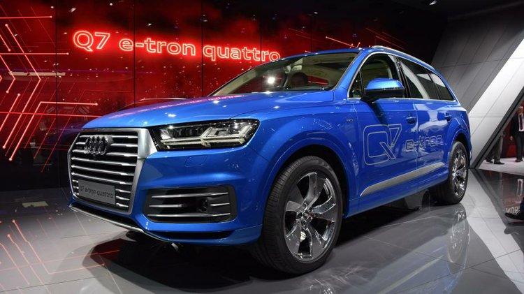 Audi Q7 E Tron Quattro Sel Electric Plug In Hybrid Debuts At Geneva Auto Show
