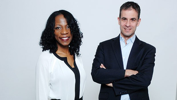 (L-R) SkyLab founder Bridgette Wallace and Smarter in the City founder and 