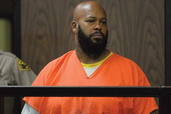 """Former rap mogul Marion """"Suge"""" Knight was hospitalized again Monday in the midst of a court hearing in which his ..."""