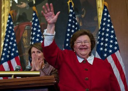 United States Senator Barbara Mikulski (D-MD) has championed equal rights for all, equal pay for women and has successfully ended ...