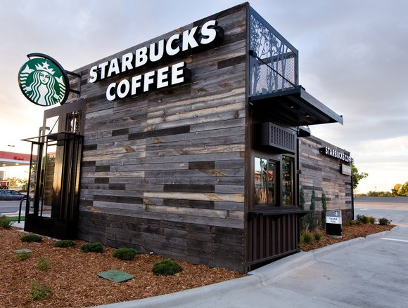 Starbucks says it will hire 10,000 refugees over the next five years.