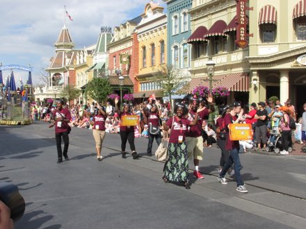 Disney Dreamers parade at Magic Kingdom