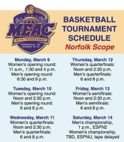 Basketball Tournament Schedule