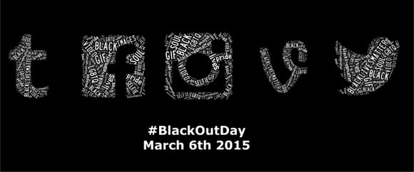 "Tumblr and Twitter users just celebrated what will be the first of many ""Black Out Days."" Users created the hashtag ..."