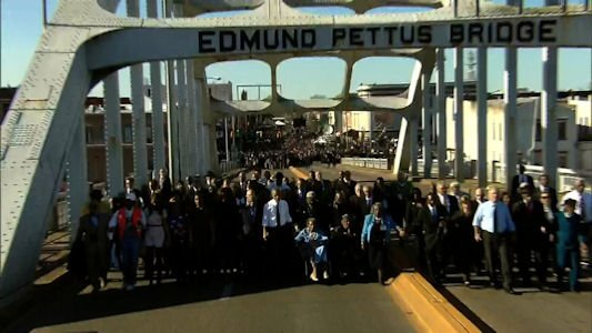 """The """"Bloody Sunday"""" beatings of civil rights demonstrators in Selma, Alabama, served as a catalyst for the passage of the ..."""